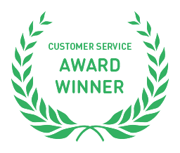 Customer Service Award Winner